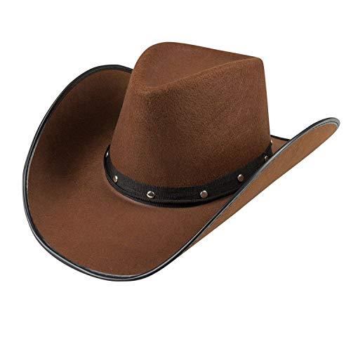 Boland 04383 - Sombrero de Vaquero, Color marrón