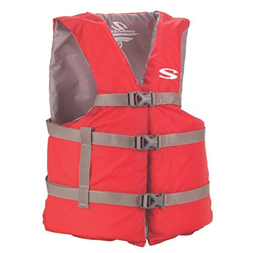 Review Stearns Adult Classic Series Vest,  3000001412, Red, Universal