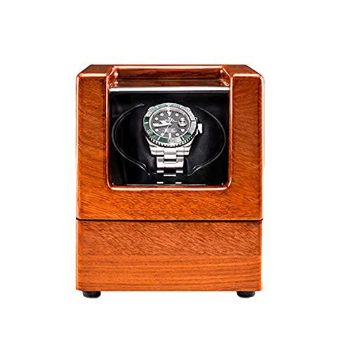 XYSQ Caja Giratorias para Relojes Watch Winder Box con Motor Silencioso 5 Modos Diferentes Rotación Joyeria Organizadora Y Exhibición (Color : D, Size : 1+0)