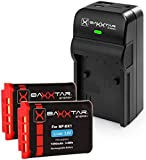 Baxxtar Set (2X) Ersatz für Akku Sony NP-BX1 (1090mAh) - Razer 600 Ladegerät 5in1 - mit USB-Ausgang für USB-Drittgeräte
