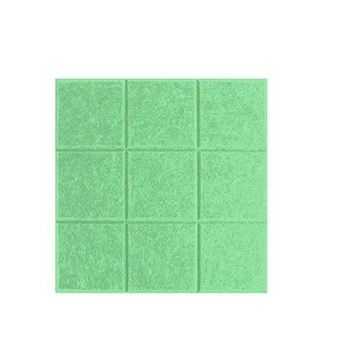 CShuiQing-Prevención del ruido Tableros De Boletines De Pared, Tableros De Fieltro Reutilizables Tableros De Tableros De Tableros Para Oficina En El Hogar, Azulejos De Pared In(Size:30*30CM,Color:#12)