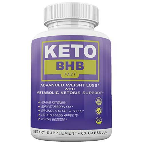 Keto BHB Fast - Advanced Weight Loss with Metabolic Ketosis Support - 180 Capsules - 90 Day Supply 5