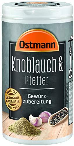 Ostmann Knoblauch & Pfeffer Gewürzzubereitung, 4er Pack (4 x 40 g)