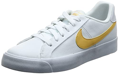 Nike Womens Court Royale Ac Canvas Fashion Sneaker Cd5405-102 Size 8.5