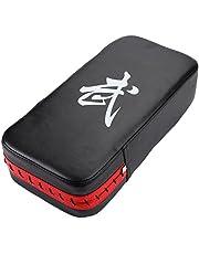 Fishlor Objetivo de Boxeo, Almohadilla de perforación Duradera de la Mano del pie del pie de Cuero de la PU para la práctica de Entrenamiento de Kickboxing del Boxeo
