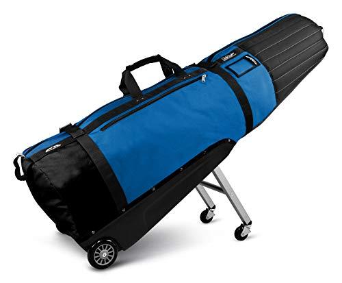 Sun Mountain Golf CLUBGLIDER Meridian Travel Cover Bag - Black/Cobalt