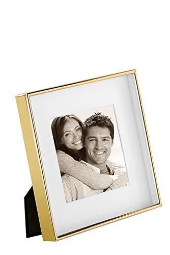Fink Fotorahmen Kim - Gold-Farben - zum Stellen und Hängen - Format 10x10 cm
