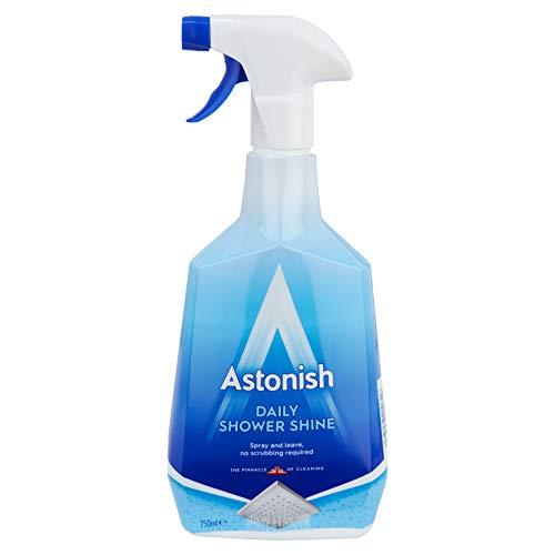 Astonish Daily - Spray detergente per doccia, 750 ml, previene muffe e calcare
