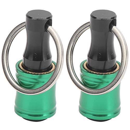 Soporte para puntas de destornillador de liberación rápida de 2 piezas, tamaño portátil, ideal para extender puntas de destornillador, adaptador de destornillador de taladro(green)