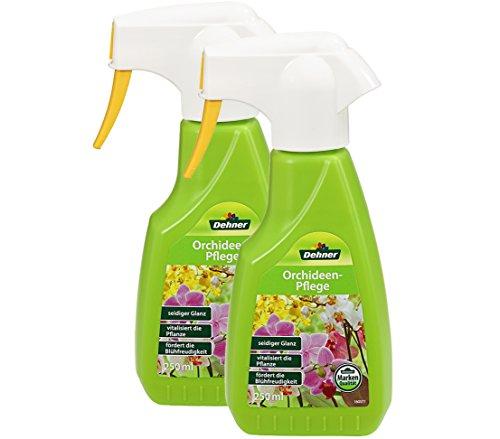 Dehner Orchideenpflege Spray, 2 x 250 ml (500 ml)