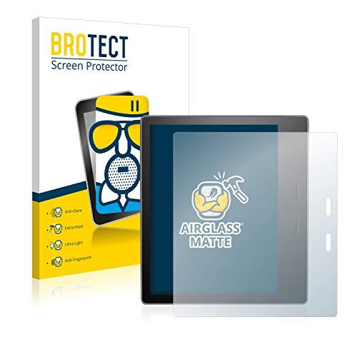 BROTECT Protector Pantalla Cristal Mate Compatible con Amazon Kindle Oasis 2019 (10a generación) Protector Pantalla Anti-Reflejos Vidrio, AirGlass