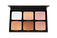 HIGHLIGHT & CONTOUR: The ultimate face palette featuring six multi-tonal shades that lift, shape and highlight in all the right places. ADD DIMENSION: Create subtle dimension on high areas of the face for natural, sun-kissed color all year long. RADI...