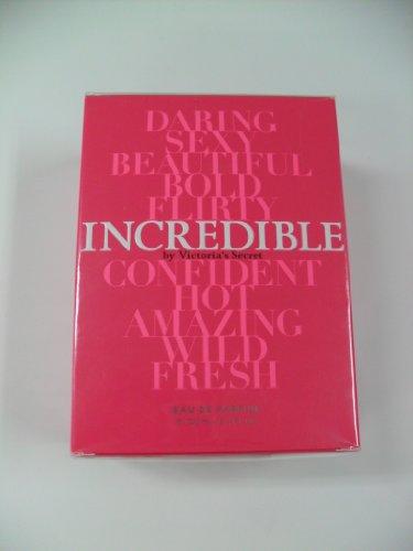 Victoria Secret Incredible 3.4 Oz Eau De Parfum