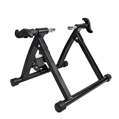 GOLDEN MANGO Bicicleta Plegable Cubierta Trainer Bicicletas Trainer Cubierta Estante De La Bici De Fitness, Apto para Bicicletas De 26 Pulgadas Y 700C