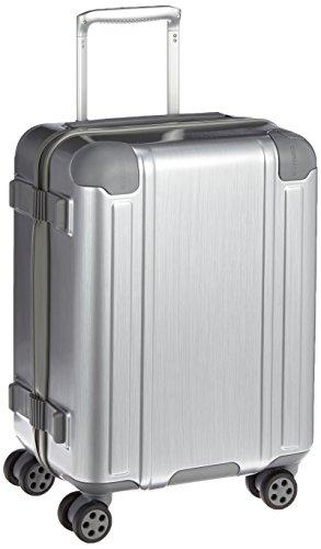[バーマス] スーツケース ジッパー スクエアプロ 機内持ち込み可 4輪 60241 40L 52 cm 3.3kg シルバー