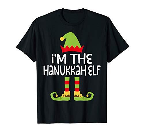 I'm The Hanukkah Elf T-Shirt Matching Costume Shirt T-Shirt