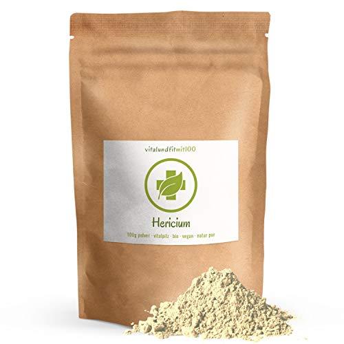 Bio Hericium Pulver - 100 g - Hericium erinaceus - auch Igelstachelbart