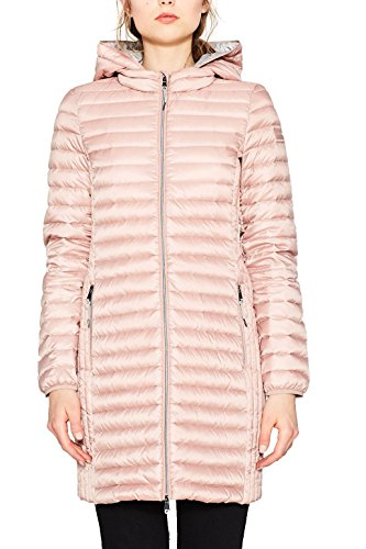 ESPRIT Damen 077EE1G010 Mantel, Rosa (Old Pink 680), Small