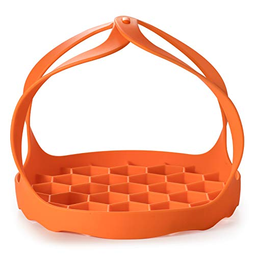 Pressure Cooker Sling, Silicone Bakeware Sling by Nenazzz, Compatible with 6 Qt / 8Qt Instant Pot, Ninja Foodi and Other Brand Multi-Function Cookers