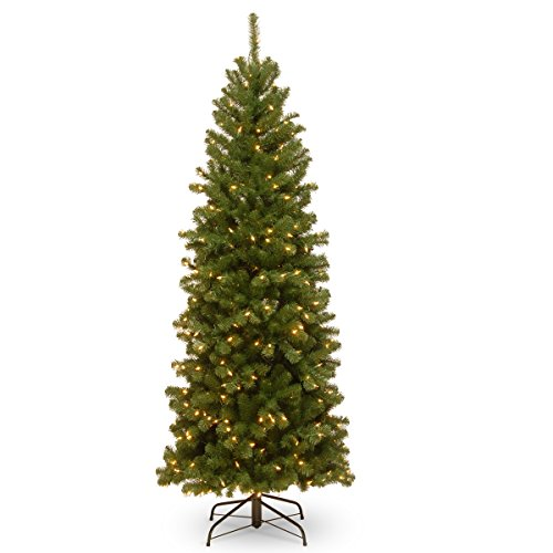 National Tree Company 6 ft. North Valley Spruce Pencil Slim Tree