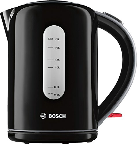 Bosch Bouilloire Noir 1, 7 Litre, 2200