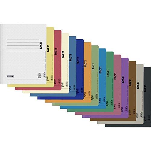 15 Schnellhefter Papphefter in 15 Farben Hefter Pappe Brunnen Fact Recycling Schule 250g