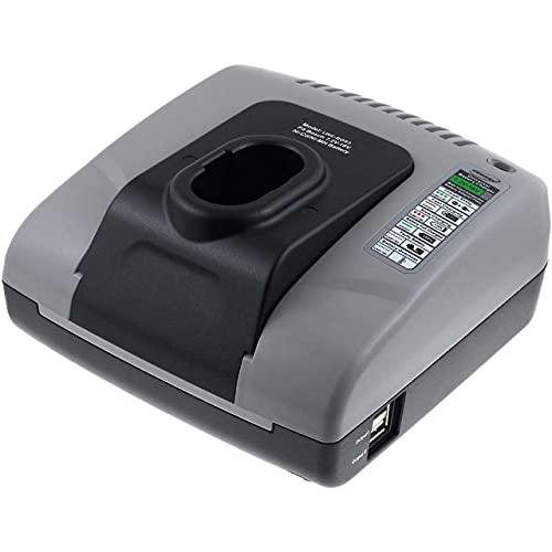Powery Cargador de batería con USB para Bosch Modelo 2607335055