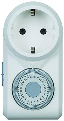 Legrand, Zeitschaltuhr OmniRex, mechanisch mit 24 Stunden Programm (Tages-Zeitschaltuhr mit Kindersicherung), 699811
