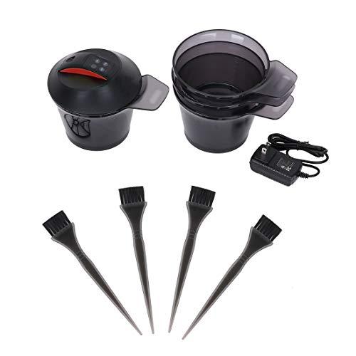 Mezclador eléctrico de crema para el cabello, mezclador cera tinte mezcla automática...