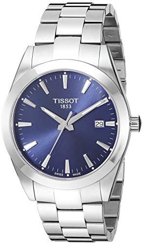 Tissot Mens Gentleman Swiss Quartz Stainless Steel Dress Watch (Model:...