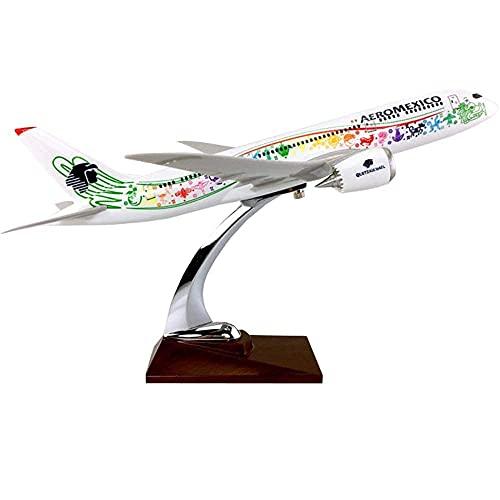 ZCYXQR Kits de Modelos de Aviones Avión Fundido a presión para Adultos 1: 127 Modelo a Escala Modelo de avión SASA A340-600 para decoración o Regalo