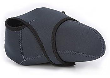 CEARI Large Size Flexible Reversible Neoprene Camera Protective Case Bag for Nikon D90 D5100 D5200 D7000 D7100 D7200 Digital Camera + Microfiber Clean Cloth