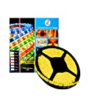 DMAK Multi Traders 5 Meter Flexible waterproof Warm White (Yellow) LED Strip Light with Adapter.