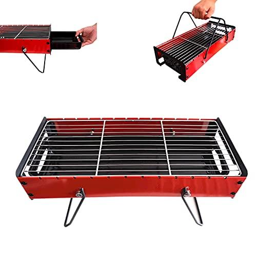 barbecue a carbonella quadrato Barbacao - Barbecue portatile a carbonella