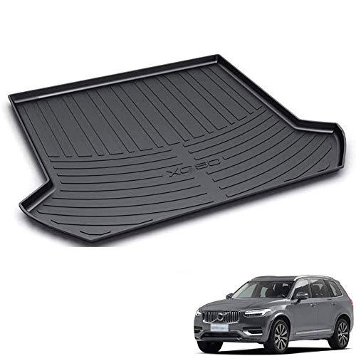 BNHHB Kofferraumwanne Laderaumwanne für Volvo XC90 2011-2020, Gummi Kofferraummatten Laderaumschale Schutzmatte, Auto Kofferraumschutz Matte Zubehör