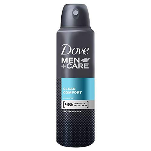 Dove Men+Care Clean Comfort Anti-Transpirant Deodorant Spray 150 ml
