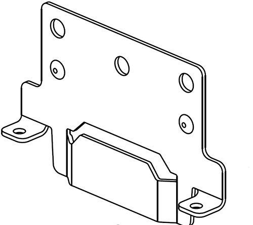 Furniture Parts IKEA Montageplatten für Bettrahmen Teilenr. # 116791 passend für Hemnes Malm Brimnes (IKEA Bettgestell-Montageplatten), 2er-Pack