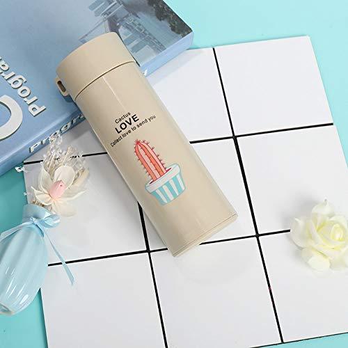 CXL Taza de Agua de Vidrio con Doble Aislamiento, Regalo Personalizado, Oficina en el hogar, Taza de Regalo pequeña y carnosa