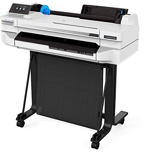 "HP DesignJet T530 24"" Large Format Printer - Color Ink Jet - (5ZY60A#B1K) with Power Strip + Printer Cable + Cat5 Cable + Wire Ties and More - Advanced Bundle Photo #5"