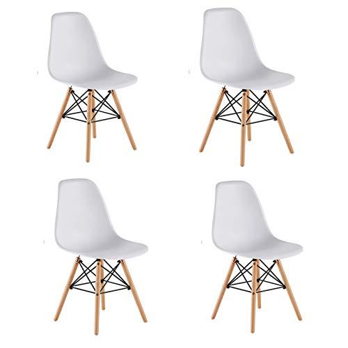 KunstDesign Set de 4 Sillas de Comedor