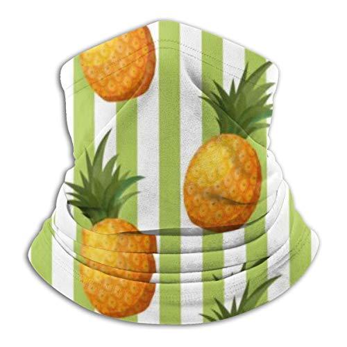 Hipiyoled Écharpe de cou Motif d'ananas frais Fruits 10\