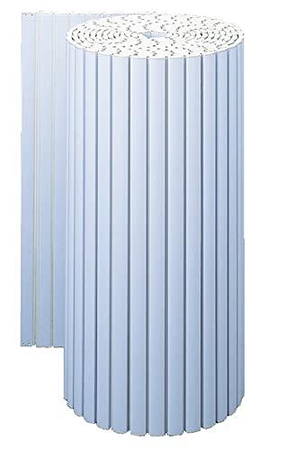 東プレ (Topre Corporation) シャッター風呂ふた ブルー 90cm×8m巻 フレスコ サイズフリーカット K8m