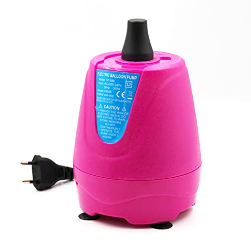 GYAM Bomba de Globo de Aire eléctrico 220V 300W Air Soplador de Globos portátiles del Globo más rápido y ahorre Tiempo para la Fiesta de la Boda de la Boda y la decoración del Festival