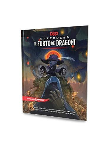 Asmodee - Dungeons & Dragons 5a Edición, Waterdeep: El Robo de los Dragones, Aventura Juego de rol, 4015