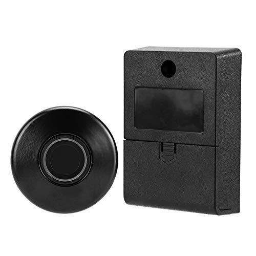 Fockety Cerradura sin Llave, Cerradura con Huella Dactilar, Cerradura Manual, Carga USB, cajón, Armario, cajón, Armario, Armario