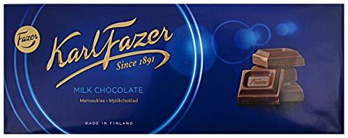 Karl Fazer Blau Klassisch Finnisch Milchschokolade Bar 200g (208,5 ml) NEU ENTWURF