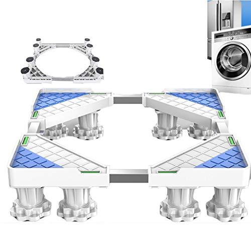 M-Base Schwere 8 Fuß einstellbar EinstellbareWaschmaschine BasisKühlschrank Ständer WäschetrocknerWeinregal Grund,8Feet