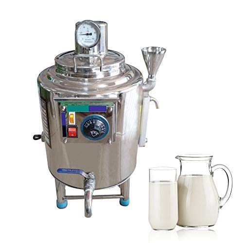 Review KUNHEWUHUA 30L Milk Pasteurizer Machine Stainless Steel for Milk/Beer/Juice/Milky Tea Pasteur...