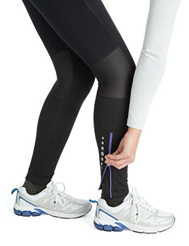 Ultrasport Professional Damen Funktions-Laufhose Windprotect mit Windstopper,Winterlaufhose, Sporthose, Kompressionswirkung, Quick-Dry-Funktion, Fleece angeraut, weitenverstellbar, Mesheinsätze - 5