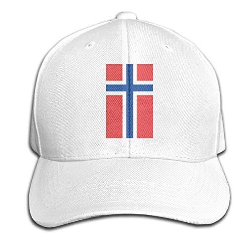 Johnson hop Norwegen Flagge Einstellbare Basketballkappe Schirmmütze Herren Damen Fitness Unisex